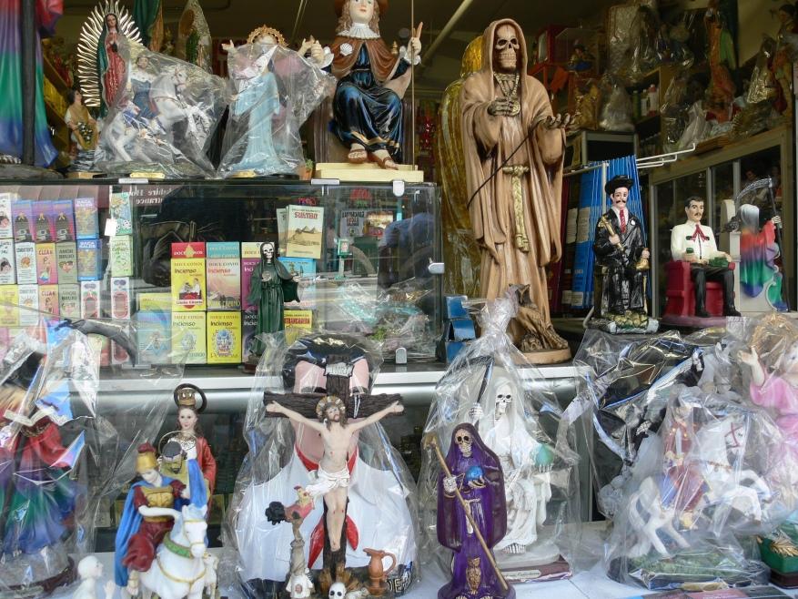 "The cult of ""Santa Muerte"": pre-Columbian deity venerated"