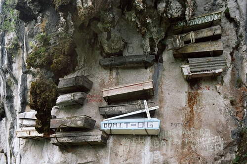 The mysterious Hanging Coffins of Sagada, Philippines