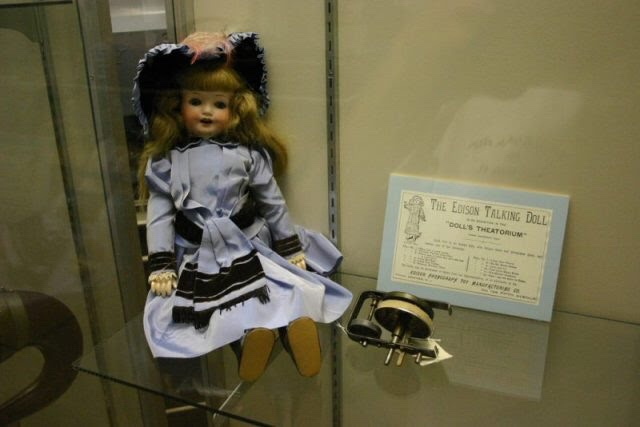 Edison's talking doll which terrified children.