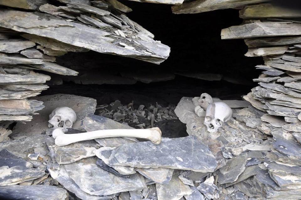 Anatori Burial Vaults: A tragic story of Khevsureti's village.