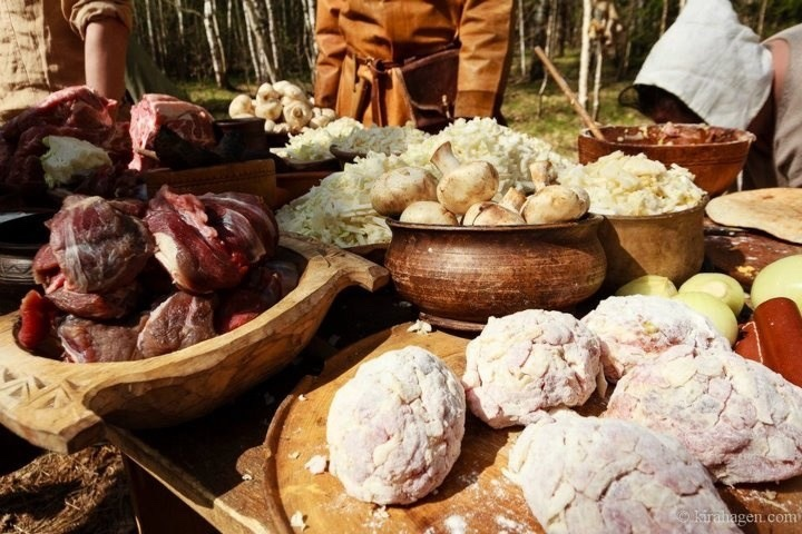 The Viking diet: surely better than that of many others medieval people