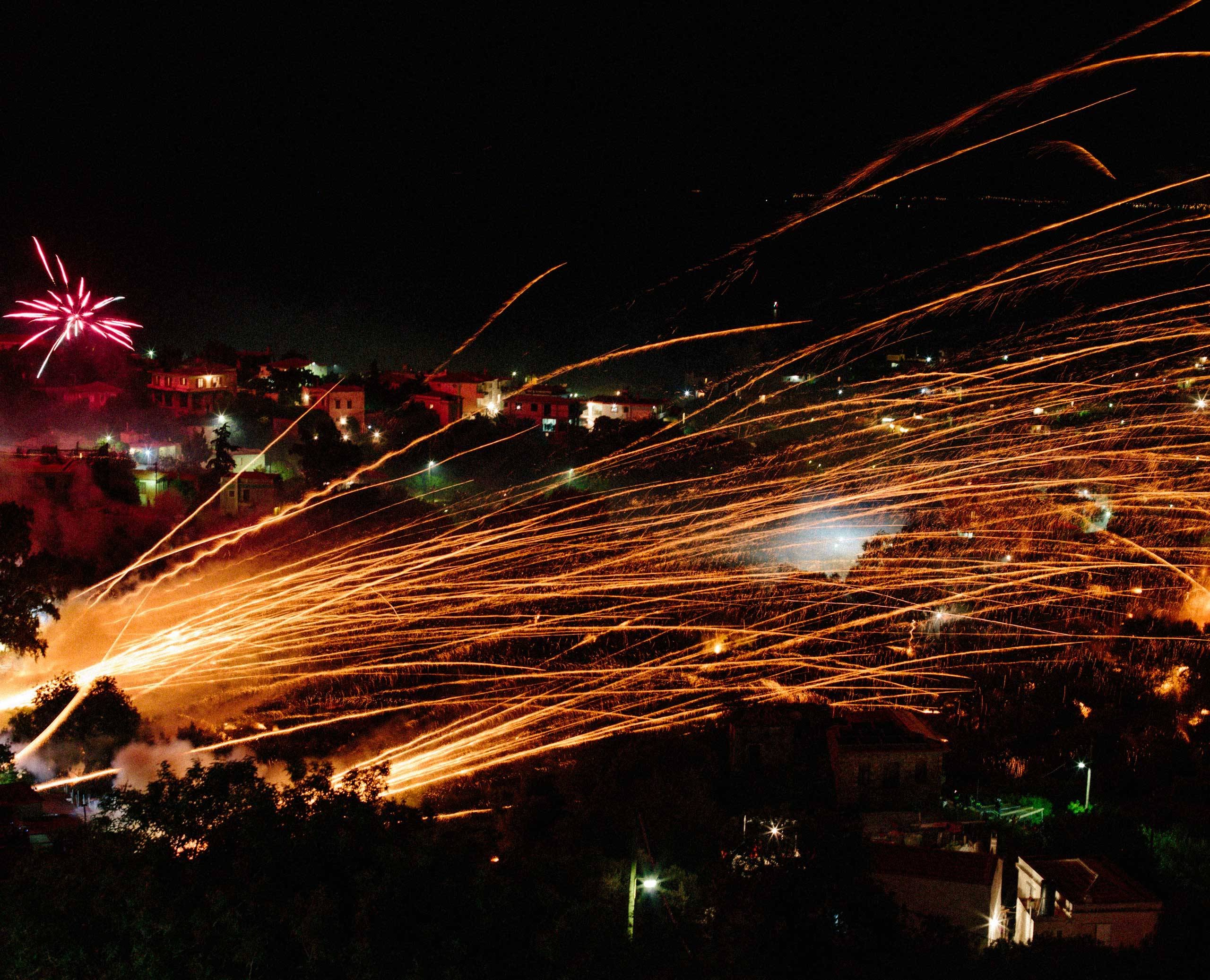 The Chios Rocket War is the most explosive Easter in the world!