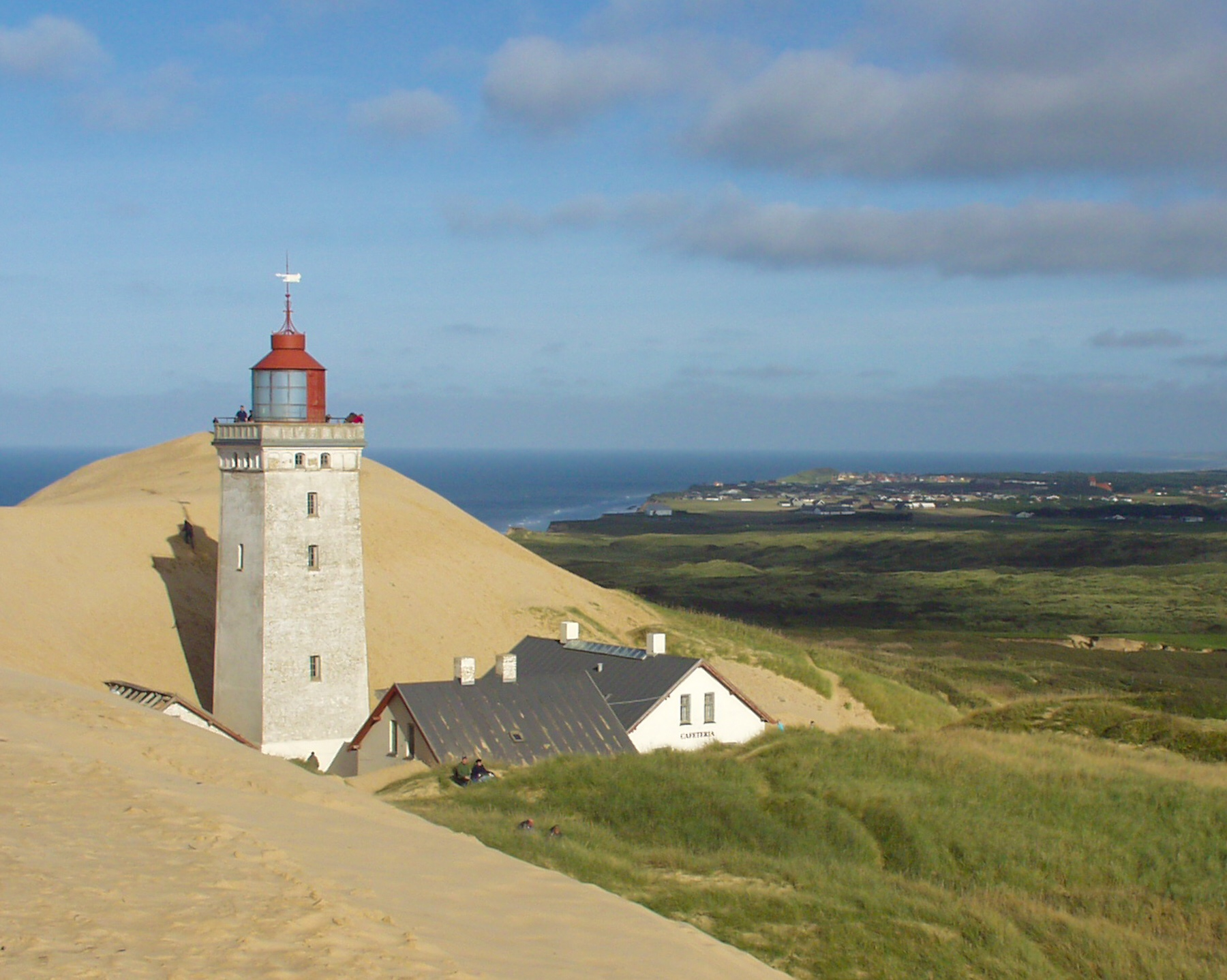 Denmark: Skagen, Sand-Covered-Church, Rubjerg Knude Lighthouse and the Power of nature