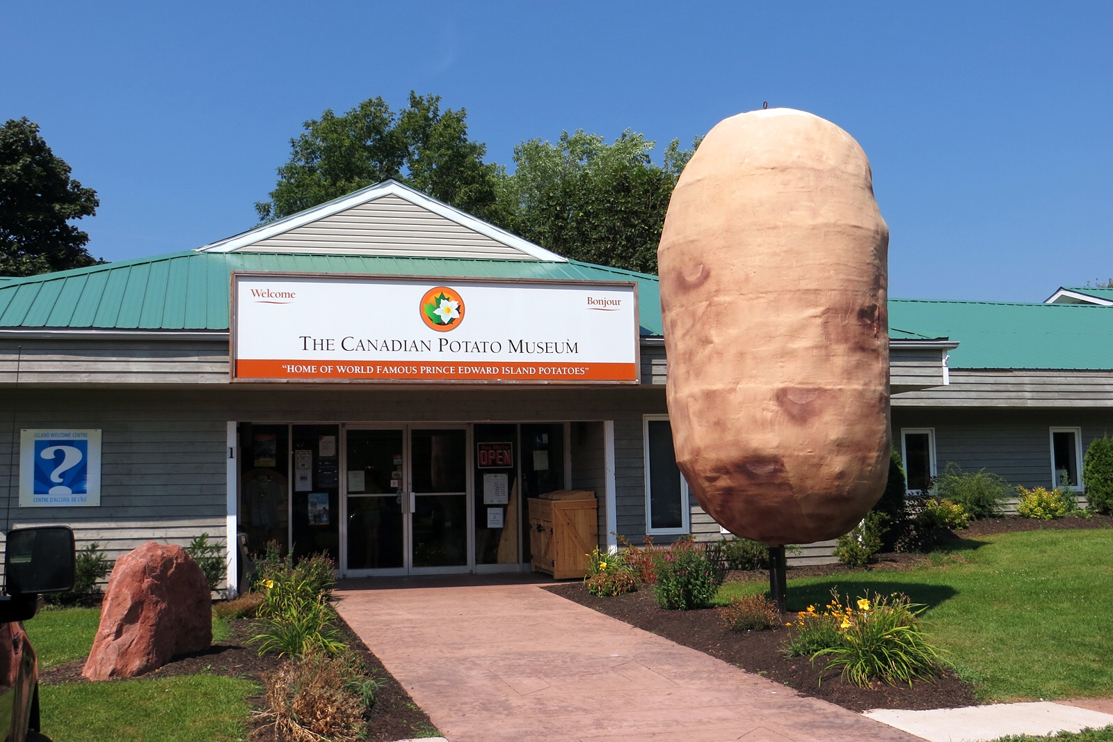 The Canadian Potato Museum~