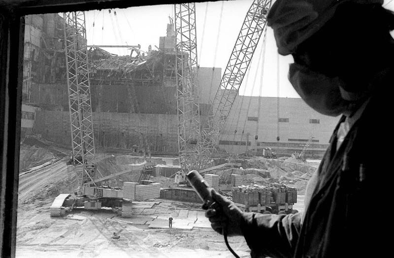 Chernobyl Disaster in 33 rare photographs taken at the time