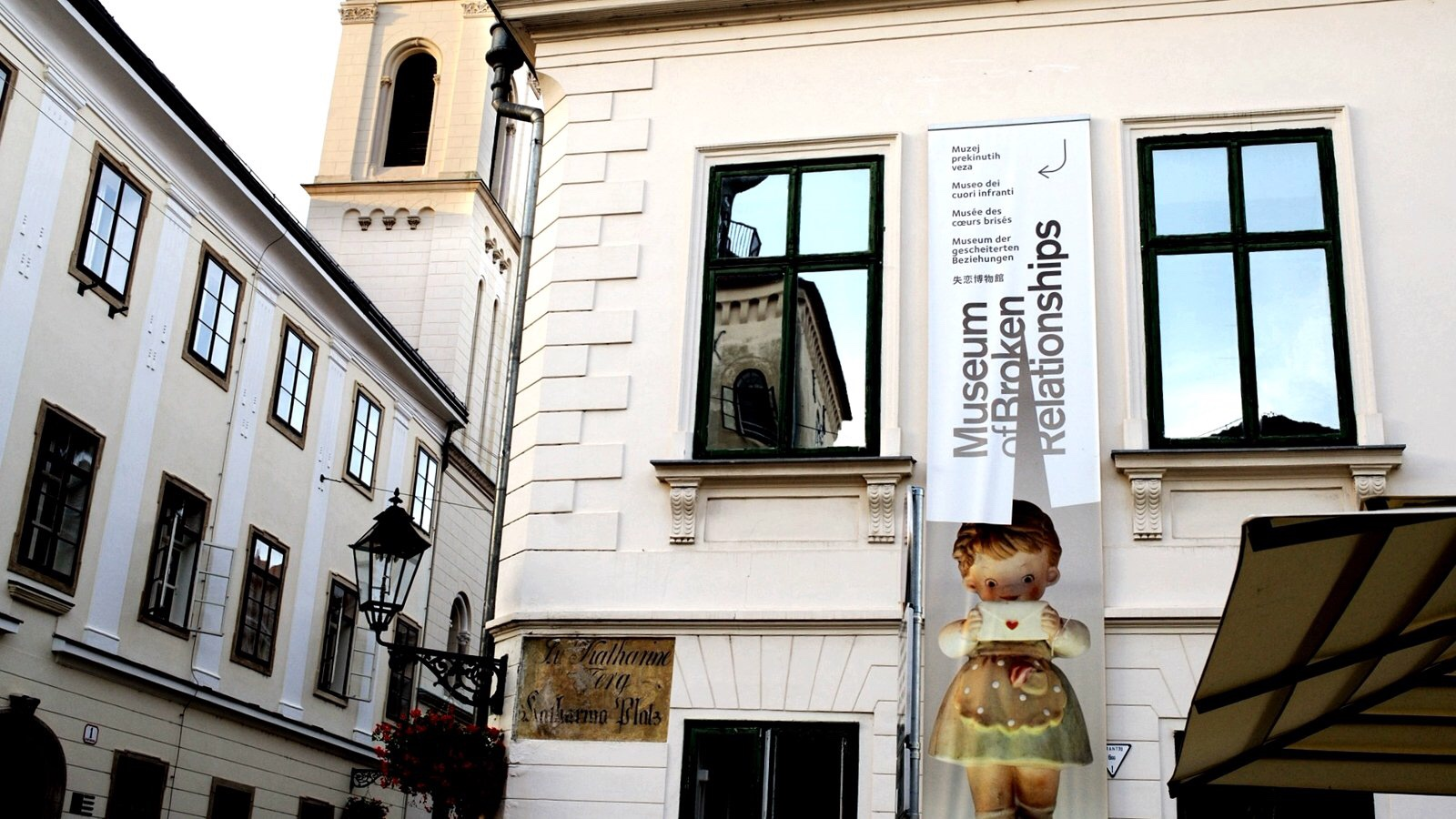 A Visit to the Museum of Broken Relationships in Zagreb.