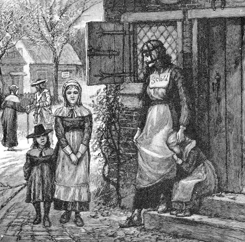 """Scold's bridle"": Renaissance torture that punished the gossip."