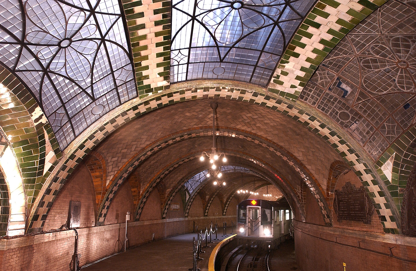 The old City Hall subway Station, New York.