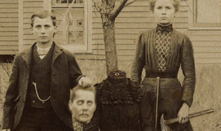 The macabre beheaded portraits of the Victorian era