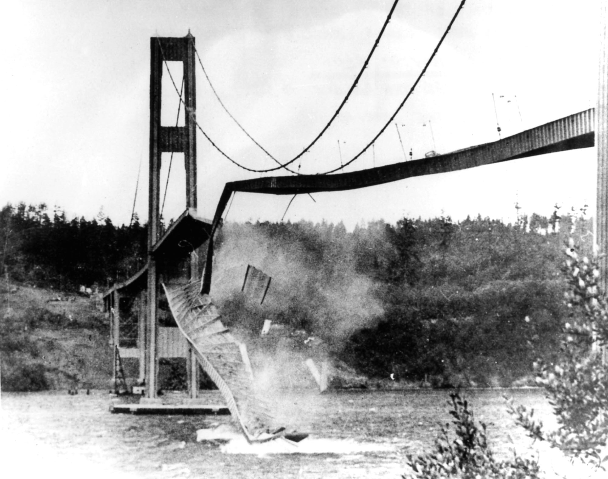 Tacoma Narrows Bridge: the most popular non-fatal engineering disaster in U.S. history~